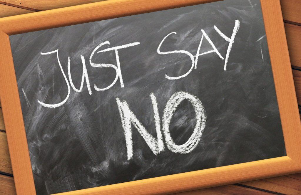 Dire non, gestion du stress, planification, apprendre à dire non