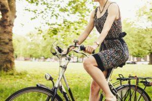 vélo, transport écologique, démarche écologique, bien-être