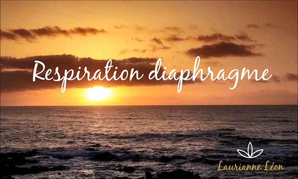 couverture Respiration du diaphragme